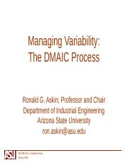 Managing Variability -DMAIC.ppt