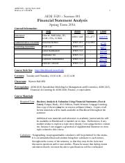AEM 3520 - 01 Financial Statement Analysis Spring16 Draft.pdf