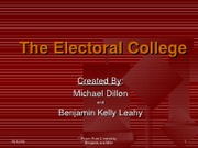 Electoral College PPP