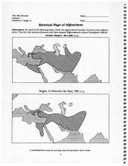 Geographic History of Afgan