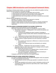 Chapter 1MB Introduction and Conceptual Framework Notes