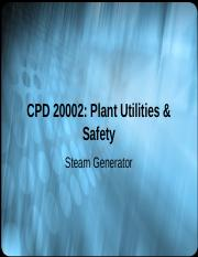 Chapter 8 Steam Generator.ppt