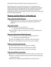 Women's Health 471 Exam 1 Study Guide-2.docx
