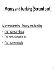 Macroeconomics - Money and banking 2.pdf