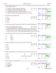 Chem 1 Exam 2 F2015 Final new with Stats.docx