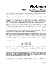 RIT2 Case Brief - ALGO1 - Algorithmic Arbitrage.pdf