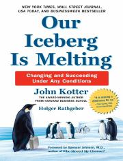 Our Iceberg Is Melting - John Kotter,Holger Rathgeber.pdf