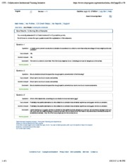Quiz 10- Collecting Blood Samples