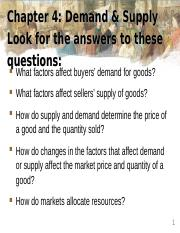 Fa16 E201 Ch4 Supply & Demand.ppt