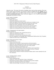 Fall 2014 Study Guide 3
