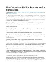 How 'Keystone Habits' Transformed a Corporation - The Alcoa Story.pdf