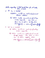 Notes on Initial Conditions for 2nd-Order  RLC Circuits-1