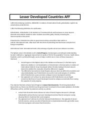 Spring UIL LD Lesser Developed Countries AFF.docx