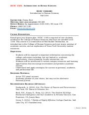HUSC 1100-003 Syllabus Fall 2016(1)