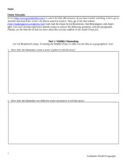 WORKSHEET - Forest Networks
