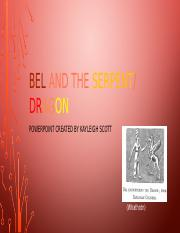 Bel and the Serpent