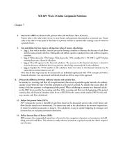 Fundamentals of Financial Planning Chapter 7 Discussion Questions