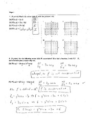 Exam 3A Solution Spring 2005 on Calculus and Analytic Geometry IV