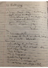 chemistry oil refining notes