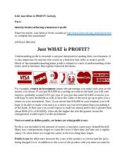 11-17-2017 Just What Is Profit.docx