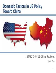 12 Domestic Factors in US Policy toward China.pdf