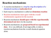 Lecture 29-Reaction mechanism