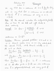 MATH 1500 Week 3 Notes