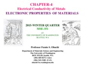 MSE351-CHAPT[4]2015 Elec conduction
