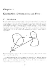 Chapter 2 Lecture Notes on Kinematics