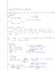 PH Notes Two Dimensional Motion