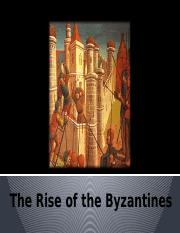 1 The Rise of the Byzantines