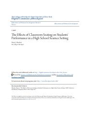 The Effects of Classroom Seating on Students Performance in a Hi.pdf