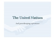wk 7 UN and peace keeping operations