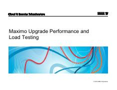 Maximo Upgrade Performance and Load Testing.pdf