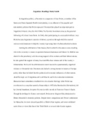Argentina  Readings Study Guide_LAW 561
