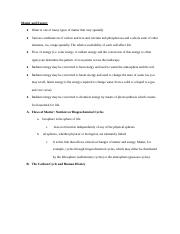 GEOG*1220 Unit 4 Notes