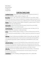 Cold War Study Guide.docx