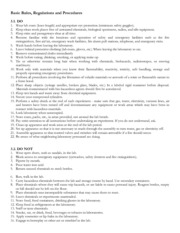 Laboratory Safety 2 - Laboratory Rules and Regulations