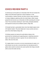 Civics Review Part 6
