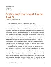 Stalin and the Soviet Union part 3 word.docx