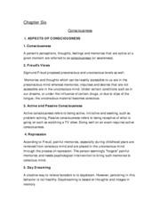 Psychology 2012 - Chapter 6 & 7
