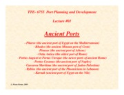 Lecture01-Ancient-Ports