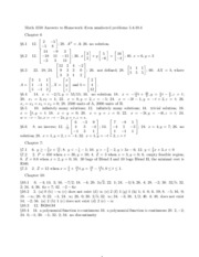 MATH 1550 Assignment 2 Answers