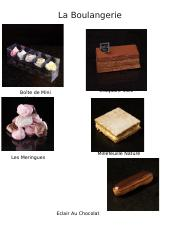 French Choice Board - La nourriture.docx
