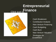 Entrepreneurial Finance 1