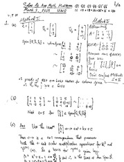 Midterm 2009 solutions
