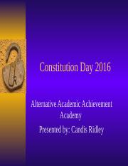 Candis Ridley Constitution Day.ppt