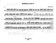 Audition Lick II