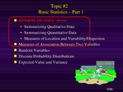 Topic #2-Basic Statistics-Part 1-sport