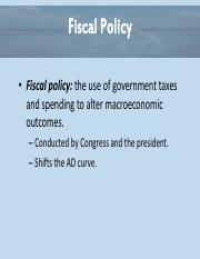 Essential of Economics Chapter 11 - Policy Option Powerpoint